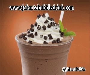 bubuk coklat chocolate ice blend jakarta bubble drink